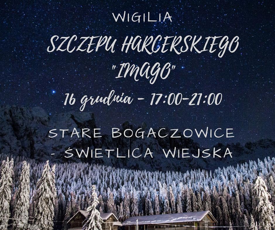 WIGILIA SZCZEPU - 16 GRUDNIA - ZAPISY I WAŻNE INFORMACJE